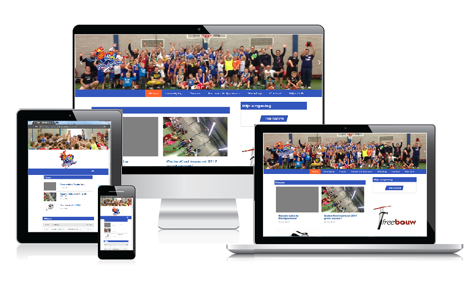 Nieuwe website Woodpeckers!