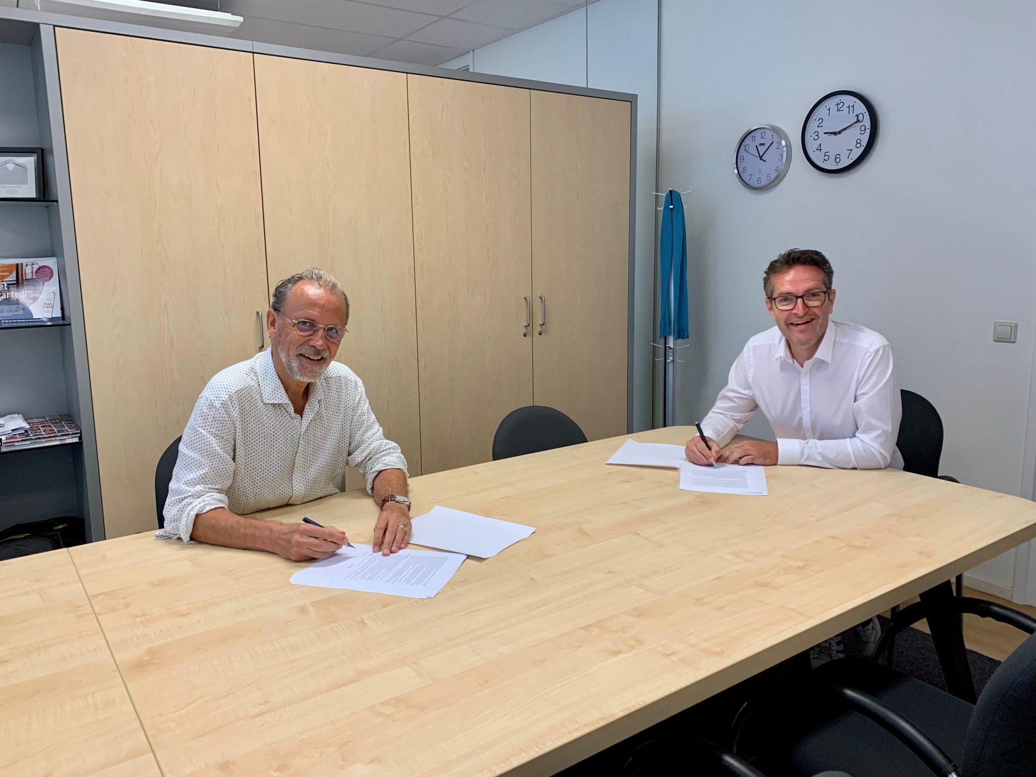 Ondertekening van de meerjaren samenwerkingsovereenkomst